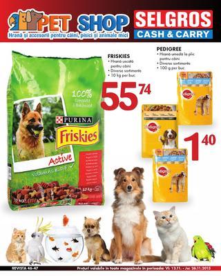 Selgros catalog PET SHOP - 12-26 Noiembrie 2015