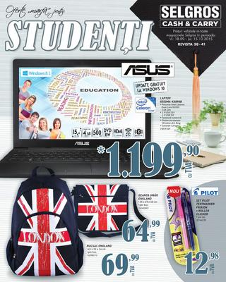 Selgros catalog studenti 2015