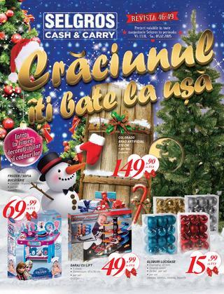Selgros catalog Craciunul iti bate la usa - 12 Noiembrie - 5 Decembrie 2015