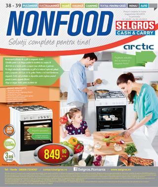 Selgros catalog nonfood septembrie 2015