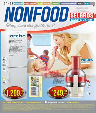 Selgros nonfood catalog septembrie 2015