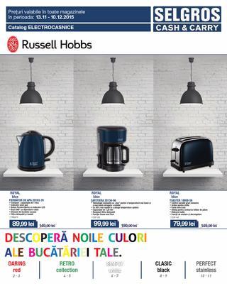 Selgros catalog Russel Hobbs - 12 Noiembrie - 10 Decembrie 2015