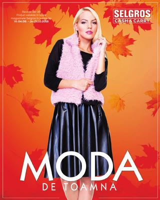 Selgros toamna moda catalog