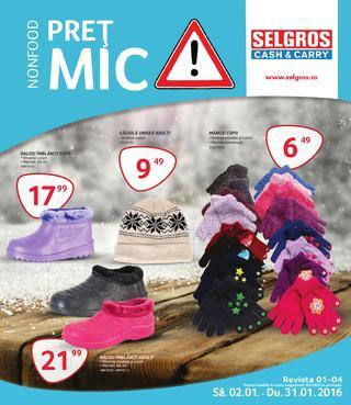 Selgros catalog pret mic - Non-food - ianuarie 2015
