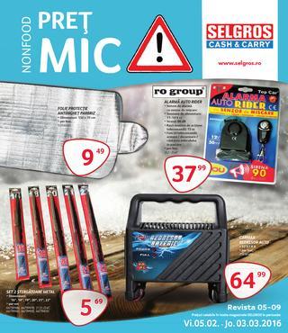 Selgros catalog pret mic - Non-food - februarie  2016