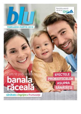 Sensi Blu catalog Banala Raceala - 1 Februarie - 31 Martie 2016