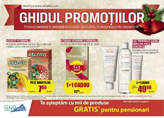 Sensi Blu catalog Ghidul promotiilor - 01 Decembrie 2015 - 13 Ianuarie 2016