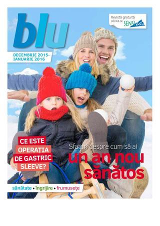 Sensi Blu catalog Sfatiri despre cum sa ai un nou sanatos - Decembrie  - Ianuarie 2016