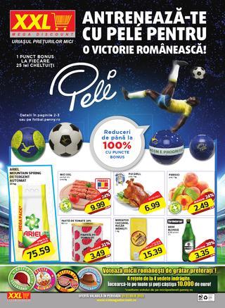 XXL mega discount catalog iulie 2015