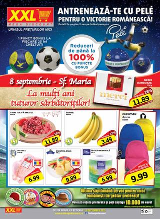 xxl mega discount catalog septembrie 2015