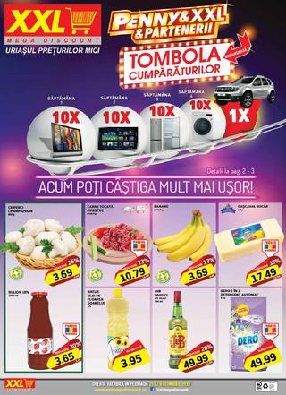 XXL MEGA DISCOUNT catalog TOMBOLA - 21 - 27 Octombrie 2015