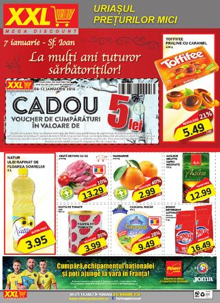 XXL mega discount catalog ianuarie 2016