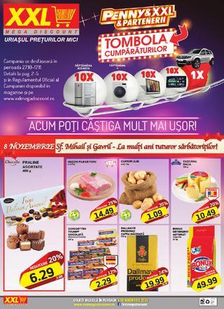 XXL mega discount catalog - 4-10 Noiembrie 2015