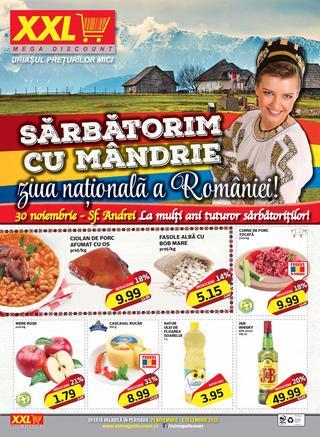 XXL mega discount catalog Sarbatorim Cu Mandrie - 25 Noiembrie - 1 Decembrie 2015
