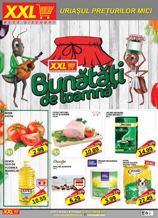 XXL Mega discount catalog - 14 Octombrie - 20 Octombrie 2015