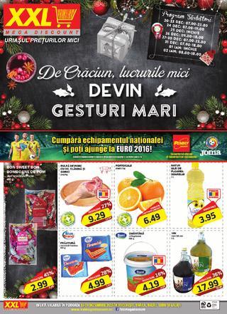 XXL Mega discount - DEVIN Gesruri Mari - 16-24 Decembrie 2015