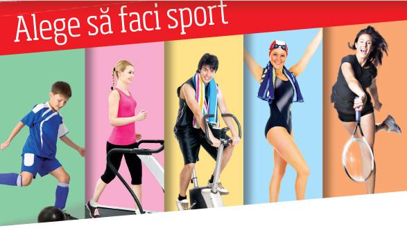 Alege sa faci sport