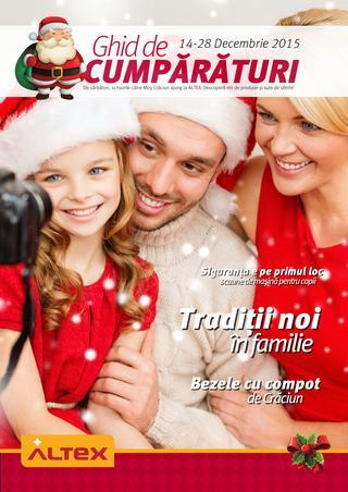 Altex catalog Ghid de cumparaturi - 14-28 Decembrie 2015