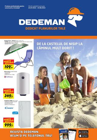 catalog Dedeman 23 iulie - 19 august 2015