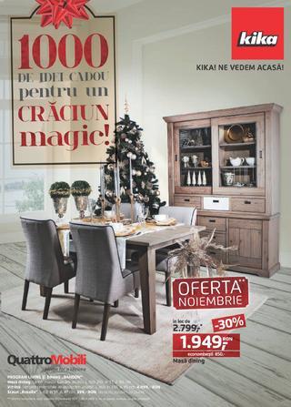 KIKA  catalog 1000 de idei cadou pentru un Craciun magic - 15 Noiembrie - 31 Decembrie 2015