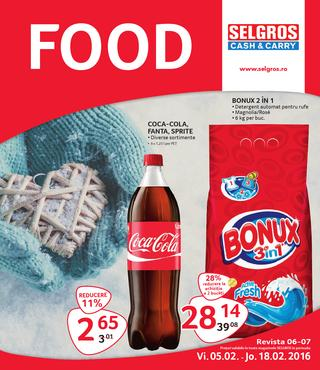Selgros oferte food 5 - 18 februarie 2016