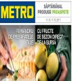 Metro catalog oferte alimentare 11 - 17 octombrie 2017
