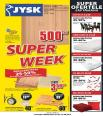 JYSK catalog SUPER WEEK 21.08.2014 - 27.08.2014