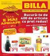 Billa catalog - 400 de articole cu pret redus - 1 - 31 mai 2015