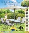 Carrefour catalog  de amenajare gradina si camping 16 martie - 3 aprilie 2017