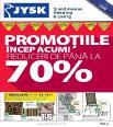 JYSK - catalog PROMOTIIde pana la 70 % - 23 iunie - 7 iulie 2016