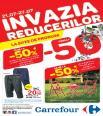 Invazia Reduceilor la Carrefour intre  - 21 - 27 iulie 2016