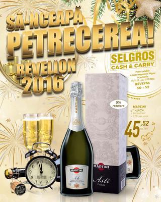 Selgros catalog Sa-nceapa Petrecerea revelion 2016 - 11-31 Decembrie 2015