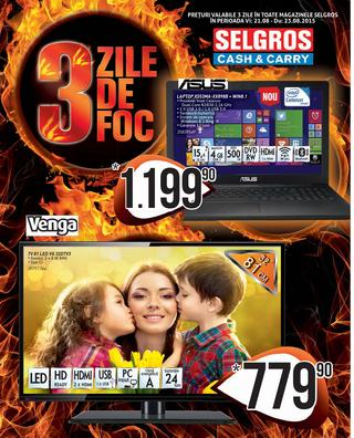 selgros catalog 3 zile august 2015
