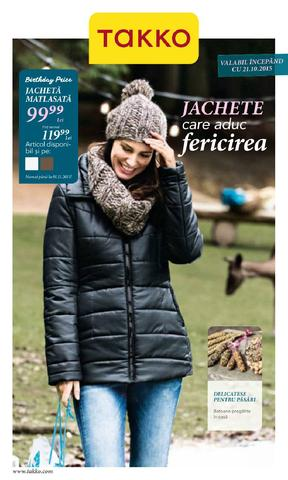TAKKO catalog Jachete care aduc Fericirea - 21 Octombrie - 1 Noiembrie 2015